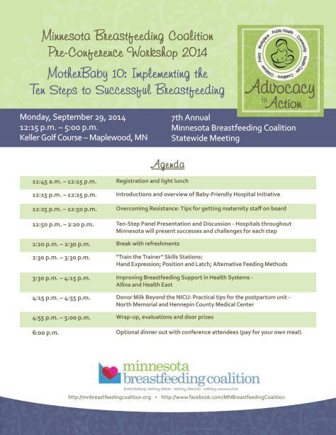 Preconference Workshop Agenda